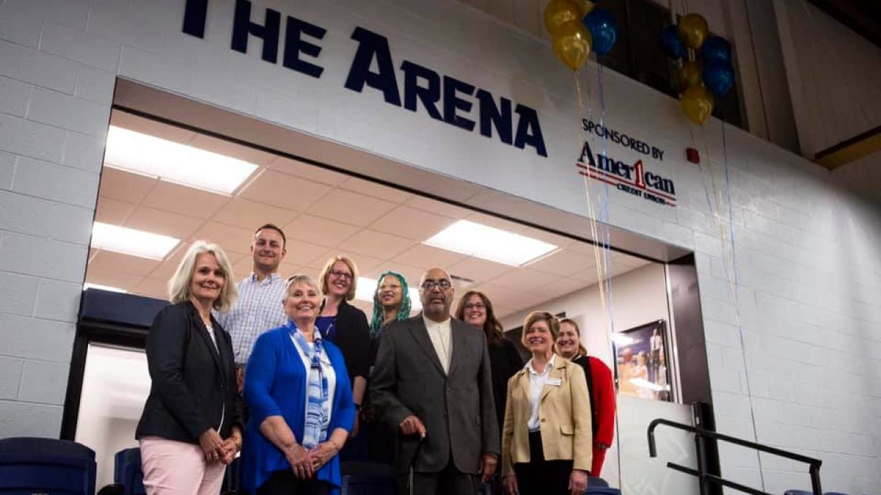 American 1 Team at Spring Arbor University The Arena