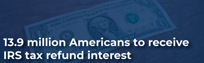 IRS Interest Refund