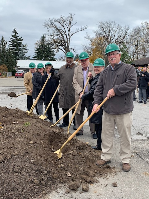 Breaking ground for new American 1 Event Center in Jackson, Michigan