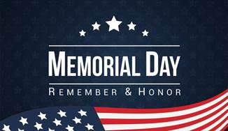 American 1 Credit Union Memorial Day - Remember and Honor