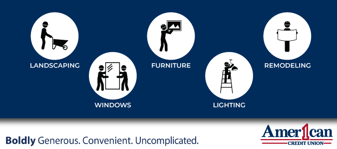 Home Improvement Projects For Summer American 1 Credit Union