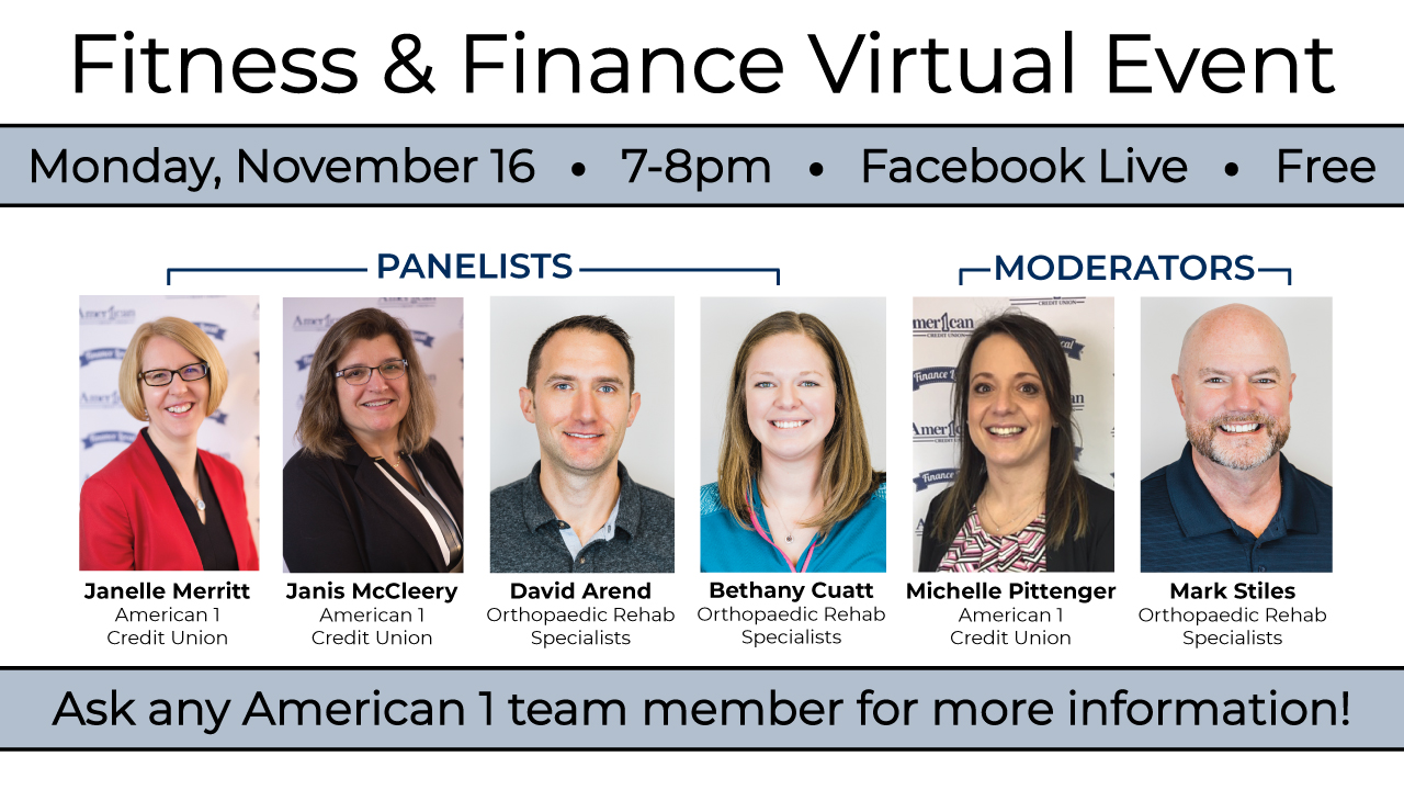 Finance and Fitness Webinar